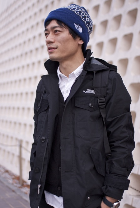 ジャケット COMME DES GARCON MAN×THE NORTH FACE