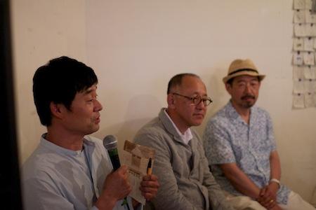 三谷龍二さん・安藤雅信さん・皆川明さんのトークイベント