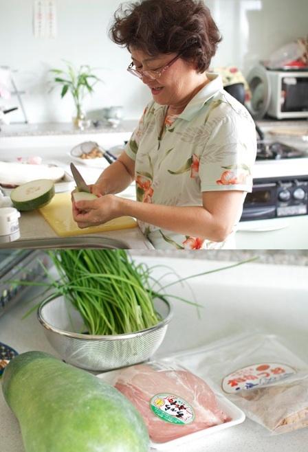 沖縄料理教室 冬瓜