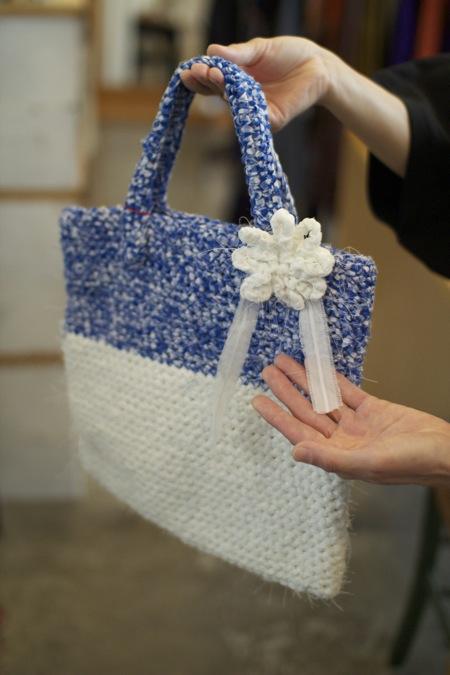 裂き編みによる手仕事 ナカソネサ1チヨ