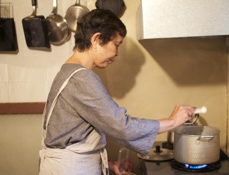 いかすみ汁 沖縄料理教室