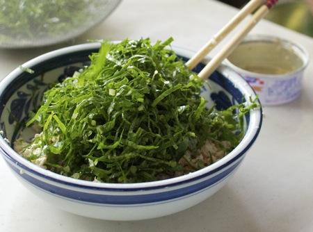 沖縄 料理教室 にがなの白和え