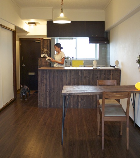 ȳ�貸アパートを自分リノベ。内装も家具も、夫婦で Diy À�sさんのおうち Calend Okinawa Â�レンド沖縄