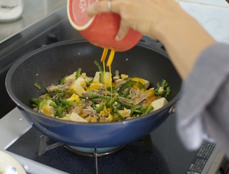 ゴーヤーチャンプルー 沖縄料理教室