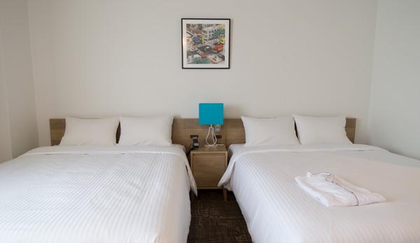 ホテルエメラルドアイル石垣島ベッドルーム